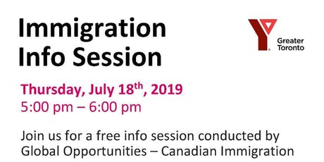 CANADIAN IMMIGRATION SEMINAR tickets
