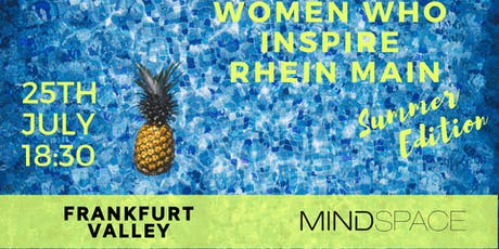 Women Who Inspire Rhein Main / Summer Edition Tickets