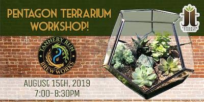 Pentagon Terrarium Workshop at Tannery Run Brew Works