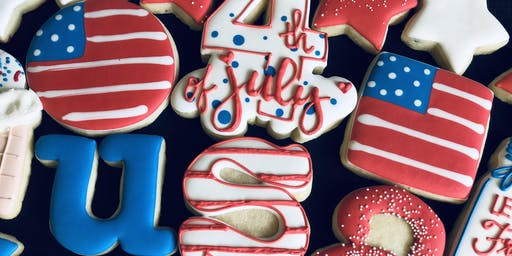 Essential Decorating Class - 4th of July Theme