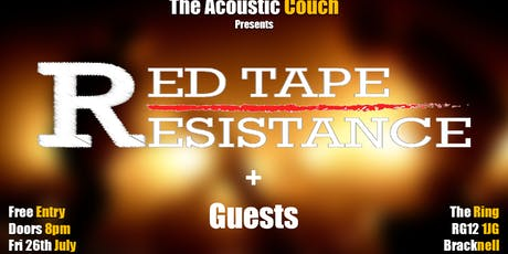 Red Tape Resistance + Guests tickets