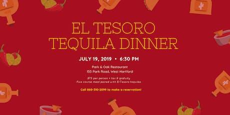 El Tesoro Tequila Dinner tickets