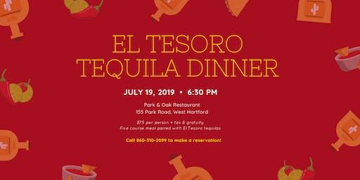 El Tesoro Tequila Dinner