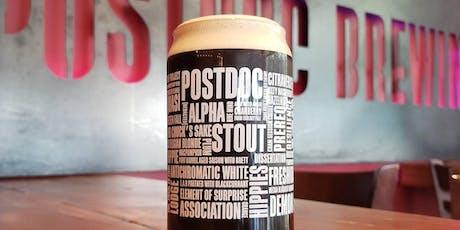 Pop-Up at Postdoc Brewing: Sharply Brewery Tour  tickets