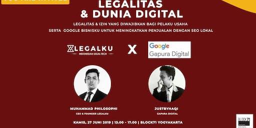 Legalku x Google Gapura Digital: Legalitas dan Dunia Digital