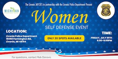 Women's Self Defense Event