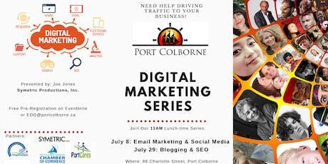 Free Digital Marketing Series (Email & Social Media Marketing|Blogging|SEO) tickets