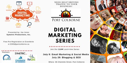 Free Digital Marketing Series (Email & Social Media Marketing|Blogging|SEO)
