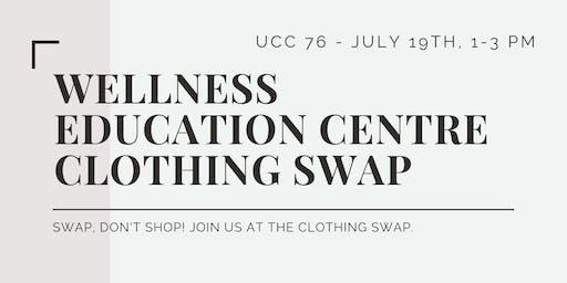 Wellness Education Centre Clothing Swap