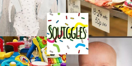 Squiggles pre loved market tickets