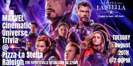 Marvel Trivia at Pizza La Stella Raleigh tickets