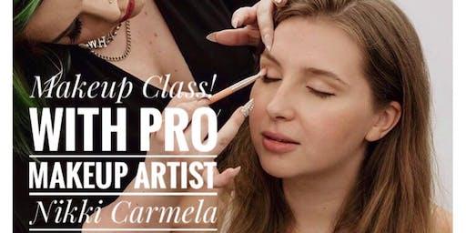 MAKEUP CLASS by Pro Makeup Artist Nikki Carmela