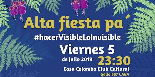Fiesta del Festival Internacional De Cine Colombiano En Buenos Aires