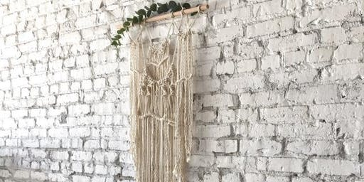 Macrame + Mimosas Workshop