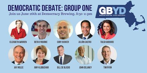 GBYD Democratic Debates: Group One