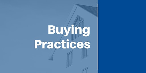 Buying Practices (12 CEUs #256-002-PL) (Prelicense or Elective)