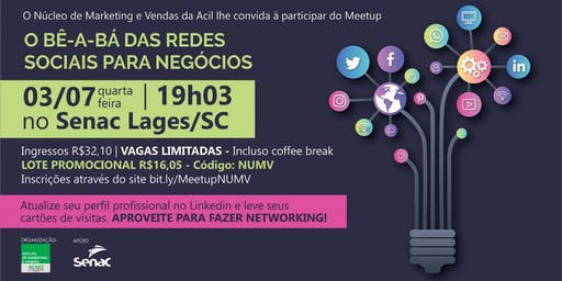 Meetup O Bê-A-Bá das Redes Sociais para Negócios