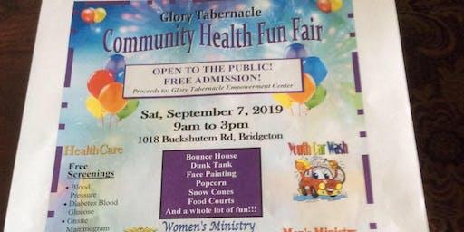 Community Health and Wellness  Fun Fair