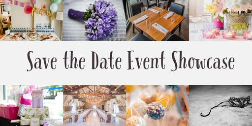 Save the Date Event Showcase