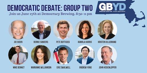 GBYD Democratic Debates: Group Two