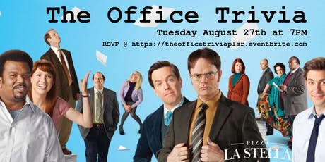 The Office Trivia at Pizza La Stella Raleigh tickets