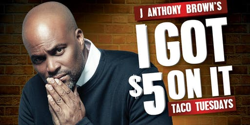 Chris Spencer at J Anthony Brown's 'I Got $5 On It' Comedy Show