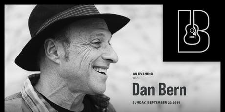 An Evening with Dan Bern tickets
