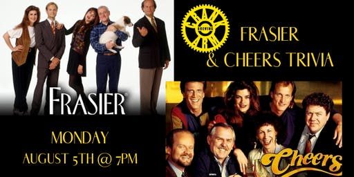 Frasier/Cheers Trivia at Crank Arm Brewing