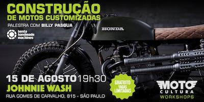 Palestras: Construção de Motocicletas Customizadas