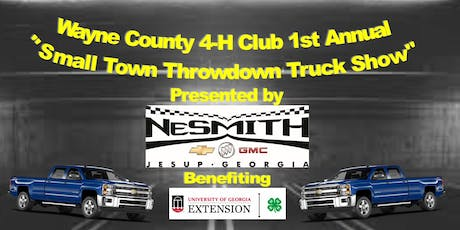 Small Town Throwdown: Wayne County 4-H Club Truck Show tickets