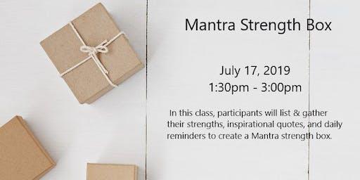 Mantra Strength Box