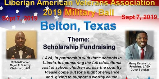 Liberian American Veterans Association 2019 Military Ball
