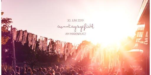 SONNTAGSGEFÜHL am MARIENPLATZ w/ MIDAS104 {katermukke} & DANIEL RATEUKE {Stil vor Talent}
