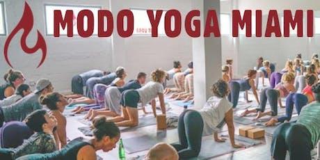 Modo Yoga Miami Beach 2nd Year Anniversary Party!  tickets