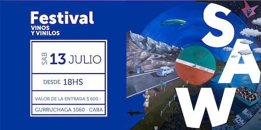 SAW Festival de Vinos y Vinilos