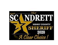 Friends to Elect Scandrett4Sheriff2020/ARRESTING THE ARTS logo