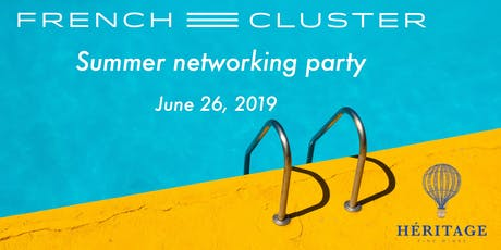 French Cluster Summer Networking Party tickets