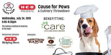 Chefs CARE: A Cause for Paws tickets
