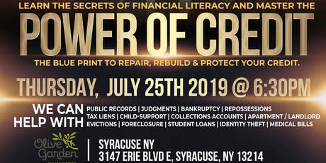 Power of Credit Seminar tickets