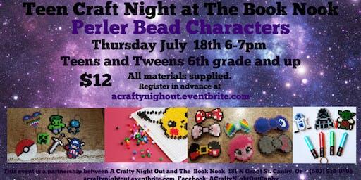 Teen Perler Bead Night The Book Nook