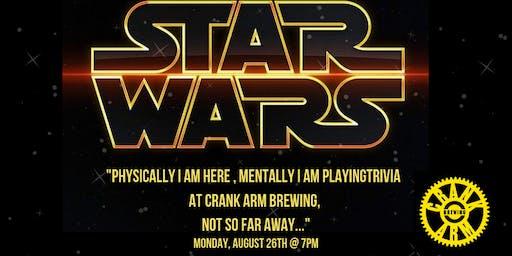 Star Wars Trivia at Crank Arm Brewing