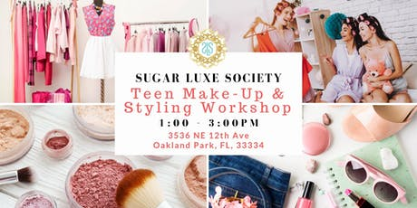 Teen Styling & Make-Up Workshop tickets
