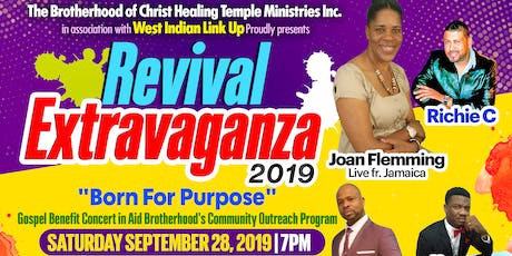 "Revival Extravaganza 2019 ""Born4Purpose"" tickets"