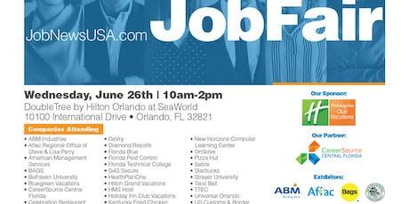 ** Orlando Job Fair - June 26th ** tickets