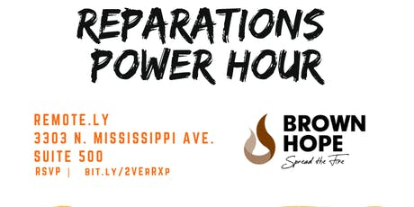 Reparations Power Hour tickets