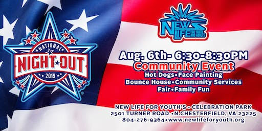National Night Out with New Life For Youth