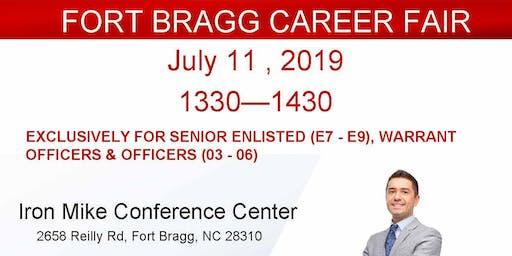 Fort Bragg Veteran Career-  Executive Hour
