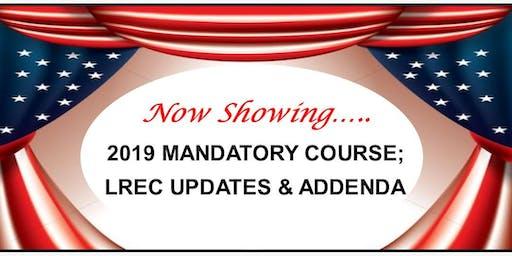 CE - 2019 Agent Mandatory Topic
