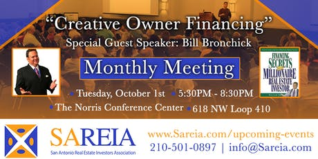 Creative Owner Financing with Special Guest Bill Bronchick tickets
