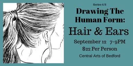 Drawing the Human Form: Hair & Ears tickets